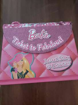 A Barbie Ticket to fabulous. Activity book