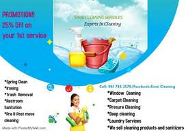 Affordable Cleaning and Laundry services (25%Discount )