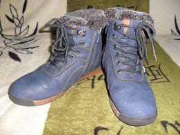 Зимние сапоги(ботинки)35 р-р(23 по стельке)
