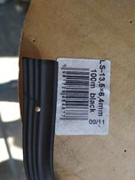 Уплотнитель резиновый самоклеющийся, штапик, для стеклопакетов, 15 грн