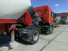 Услуги цементовоза, доставка цемента насыпью, Киев и Область