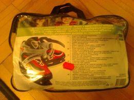 NOWE łyżwy hokejówki regulowane 30-33