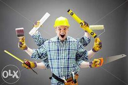 Мастер на дом,муж на час,сантехник,электрик,плотник,плиточник...