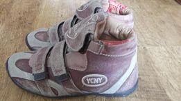 Продам кожанные ботинки на мальчика р.37