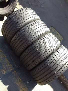4 quality Tyres for sale 245/35/R20 Goodyear eagle run flat