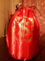 Свадебный мешок для сбора денег