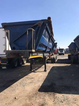 34 ton Sidetipper Trailers for rent