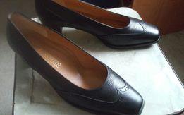 Туфли классика натур.кожа полностью