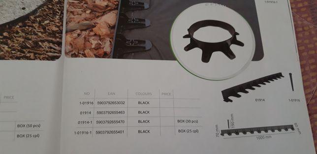 Пластиковий бордюр, обмежувач, окантовка, висота 4.5см, Польша Львов - изображение 2