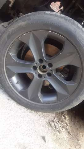 Bmw 5x120 rims and tyres
