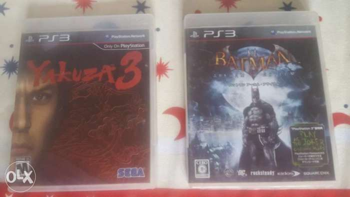 Yakuza 3 & Batman 0