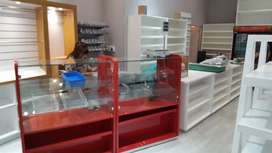 Sweet shop counters, shelves, fridges for sale