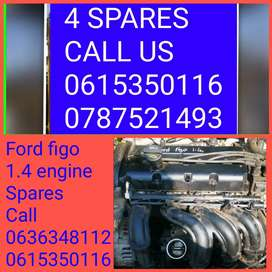 Ford figo 1.4 engine spares available call us now