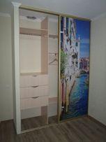 Встроенный шкаф-купе с фотопечатью Расчет цены консультация по телефон