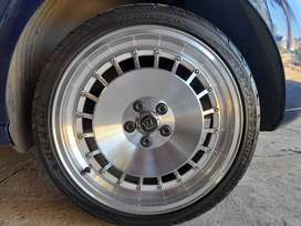 """4, 17"""" rims and tyres"""
