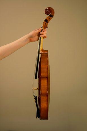 Altówka lutnicza 41cm NAGRANIE instrument dla solisty od lutnika Poznań - image 3