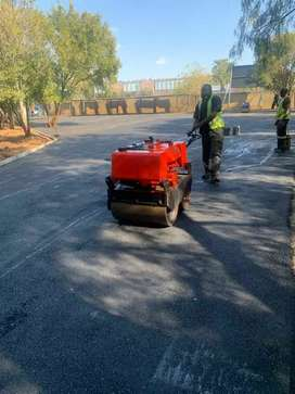 Tarmac surfaces domestic and industrial areas