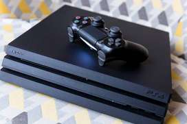 PS4 Pro 1 TB with 5 controllers and camera