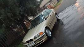 Bmw 318i e46 model 2000 for sale or swap