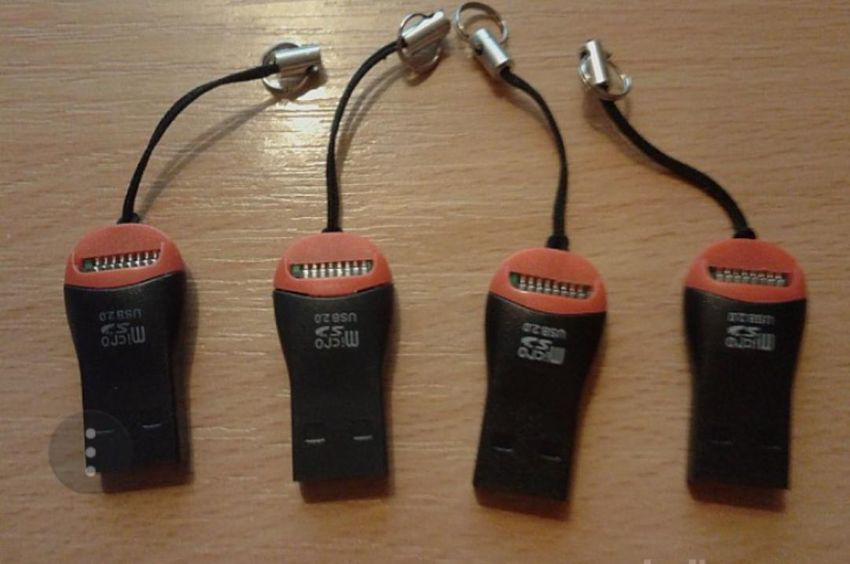 USB Čitalec Kartic Micro SD 0