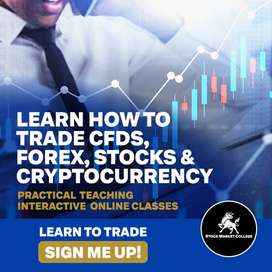 LEARN HOW TO TRADE WITH CFD, FOREX, CRYPTOCURRENCY AND SO MUCH MORE