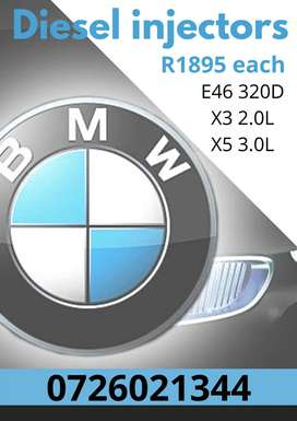BMW diesel injectors - reconditioning services