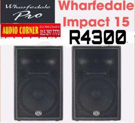 Wharfdale Speakers Available Instore