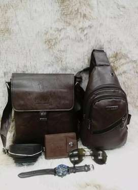 Polo bag set for man