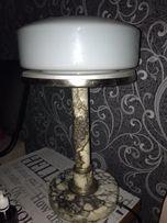 Настольная лампа сталинка мрамор