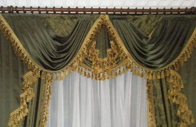 Пошив штор,ламбрекен.г.Угледар. Угледар - изображение 3