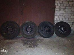 диски R15 (5x120) стальные комплект