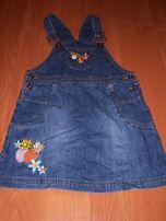 sukienka dla dziewczynki r. 98