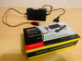 12V  Car Battery Intelligent Pulse Charger - 2A   Car   Motorcycles  