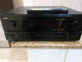 Denon AVR 2801 7.1 channel receiver & functional remote good condition