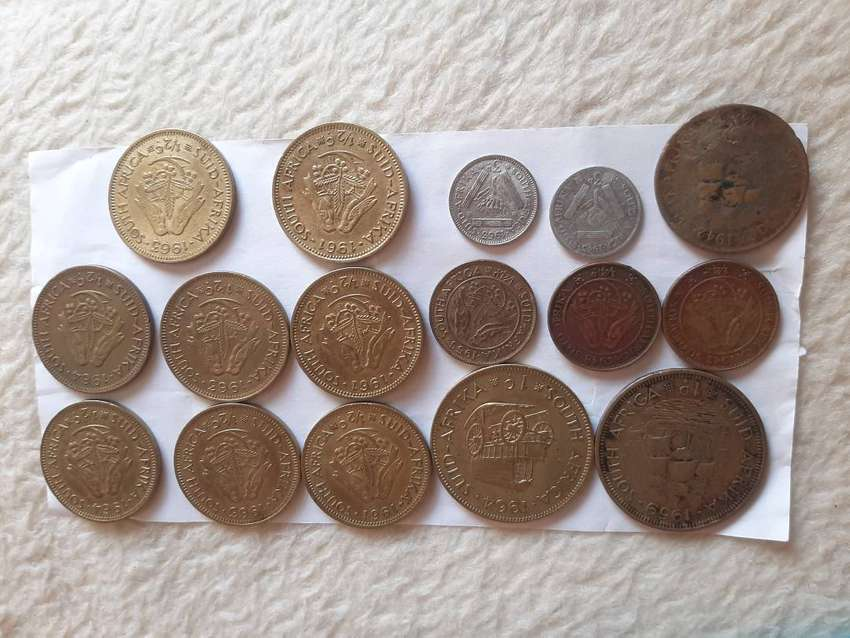 Assorted old coins 0