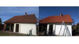 CZYSZCZENIE, mycie, malowanie kostki brukowej, dachu, elewacji