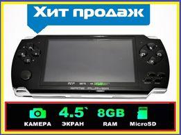Детская игровая приставка Sony PSP 3000 Mp5, сенсорный экран, Fm, SD.