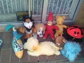 Vintage and antique soft toys
