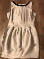Нарядное платье цвета металлик