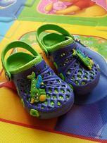 Chodaki / Chodaczki dziecięce ala crocs wkładka 12cm, rozmiar 18