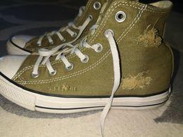 Converse 37.5 nowe trampki khaki zieleń