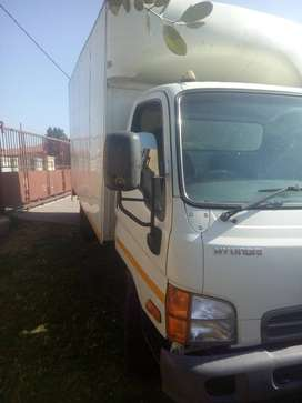 4,6 and 8 ton trucks available for home and office furniture removals