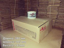 Коробки из картона среднего размера.