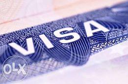 Рабочая польская виза за 2800 грн.