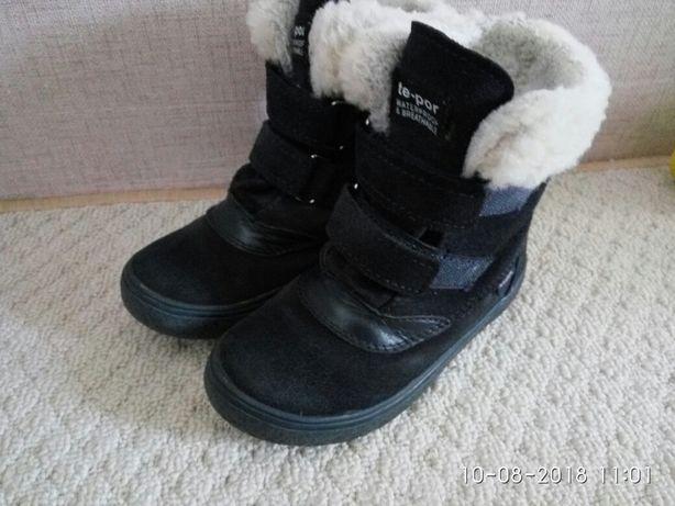 Польские зимние замшевие ботинки Mrugyla, 26 размер Киев - изображение 1