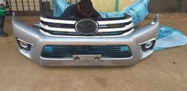Toyota hilux Gd6 bumper complete