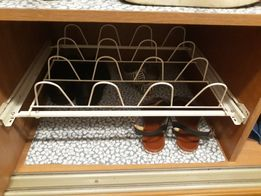 Полка для обуви на роликах фурнитура