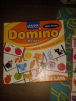 Gra domino Granna 2-4 lata plus domino Kubuś Puchatek