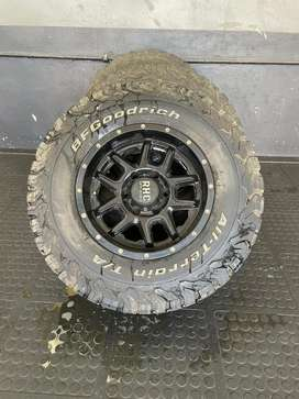 RHC offroad mags and tires