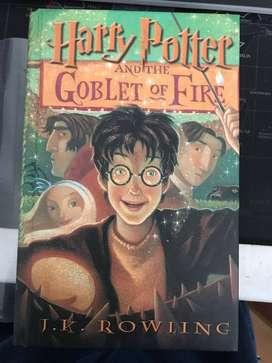 Harry Potter and the Goblet of Fire (Large print, Hardcover)